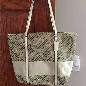 Elegant coach purse